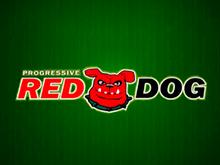 Играйте онлайн в игровой автомат Red Dog Progressive прямо сейчас